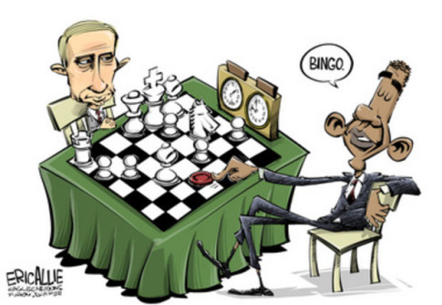 Putin-Obama-chess-checkers