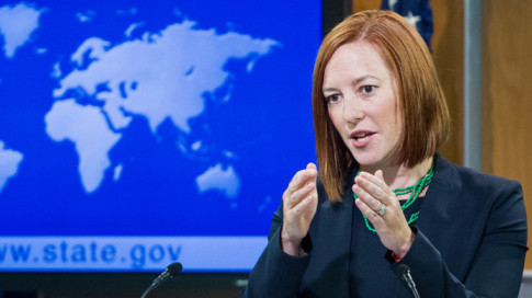 US State Department spokesperson Jen Psaki