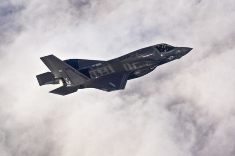 US Air Force handout photo of Lockheed Martin F-35B Lightning II fighter jet
