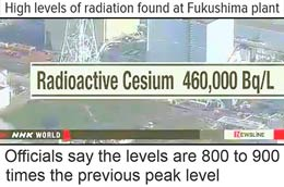 Radiation Levels Have Surged At Fukushima Plant