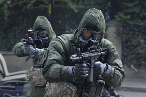 bio warfare soldiers