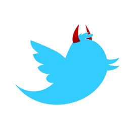 evil-twitter-bird-with-horns