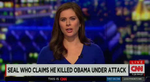 CNN seal who claims he killed obama under attack