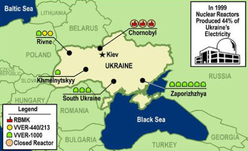 Is Ukraine Hiding A Huge Radiation Leak At The Largest Nuclear Power Plant In Europe