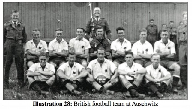 British-soccer-team-at-Auschwitz