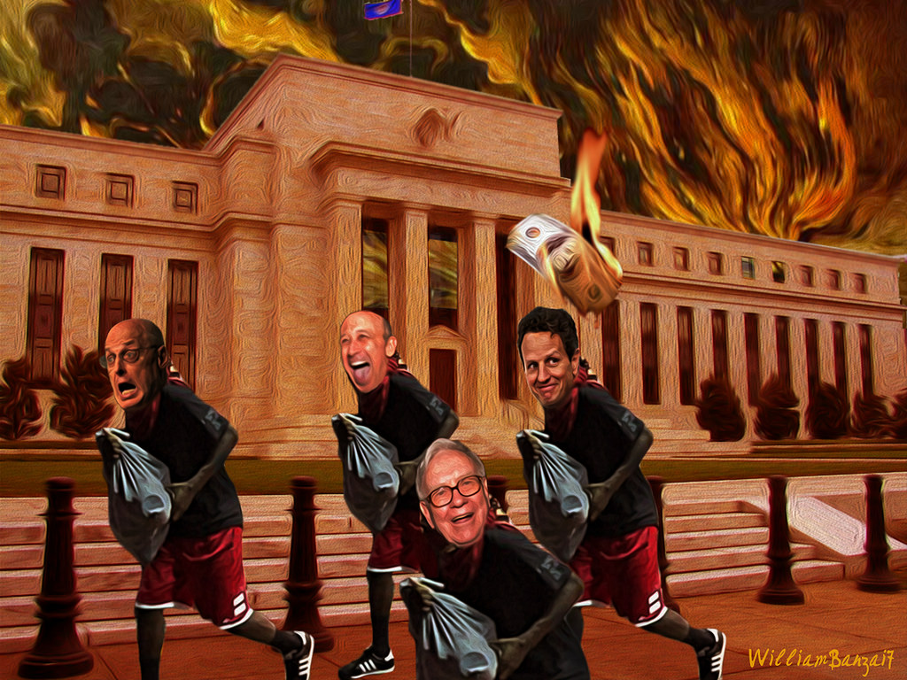 Looters At The Fed