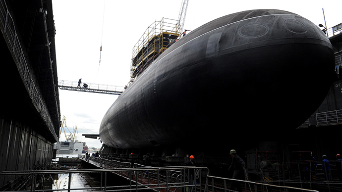 Russian advanced stealth submarine
