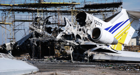 US-Made Weapons, High-Power Explosives Found in Donetsk Airport