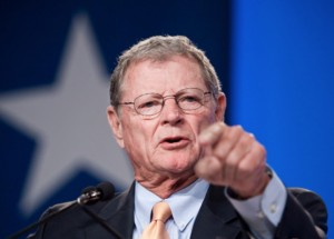 In His Thirst for War, Senator Jim Inhofe Releases Fake Photos of Russian Troops in the Ukraine