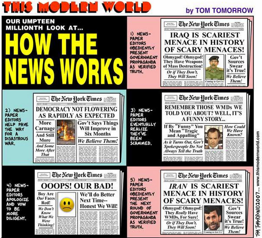 the effects of media propaganda War by media and the triumph of propaganda why are young journalists not taught to understand media agendas and to challenge the high consider the effects.