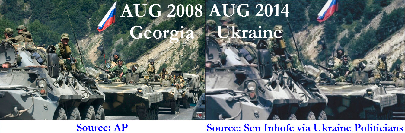 Sen. Inhofe Releases Fake Photos Of Russian Troops In Ukraine