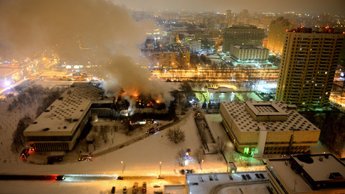 moscow-fire-cointained-library