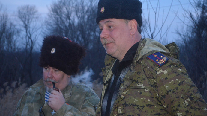 Cossack commanders - featured in the first part of the column.