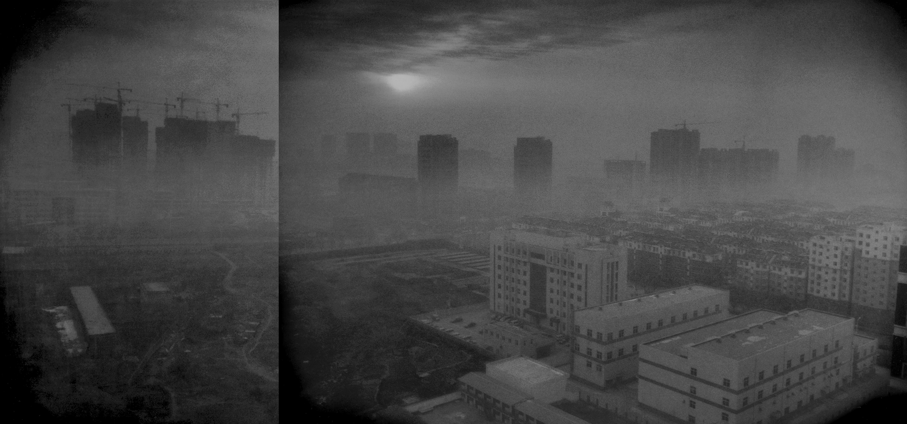 Xingtai China  city images : Smog envelopes Xingtai, China, at dawn in southern Hebei province.