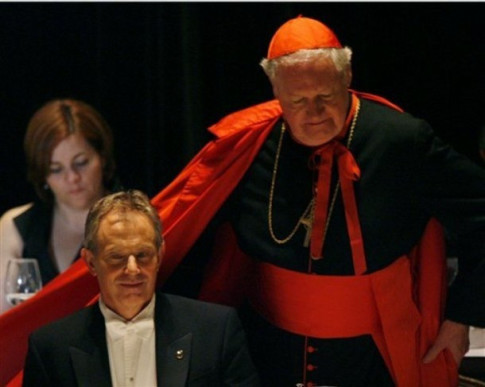 Tony Blair, Cardinal Edward Egan