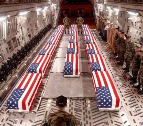 American-Dead-back-from-Iraq-coffins