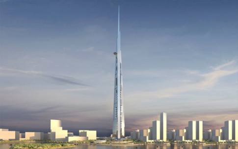 Kingdom Tower for Jeddah, Saudi Arabia
