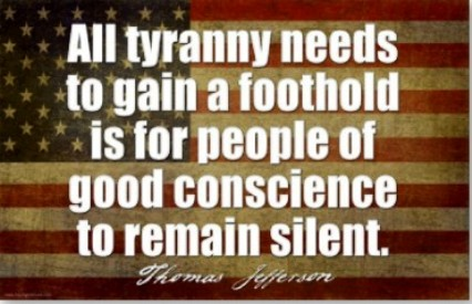 Thomas Jefferson Tyranny Quote