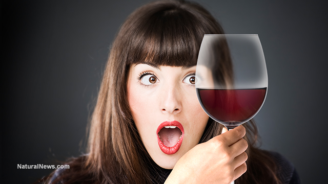Woman-Wine-Glass-Shocked