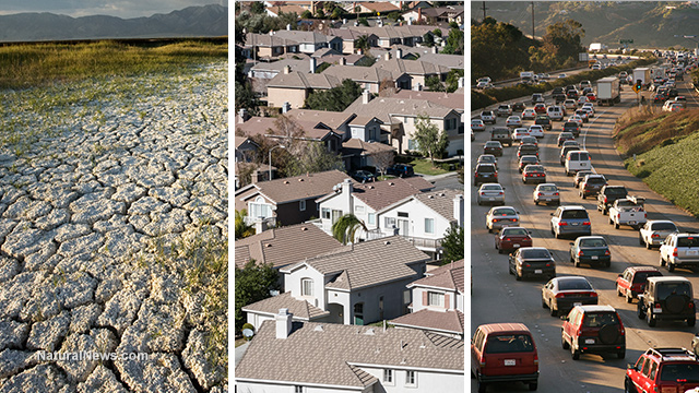 California-Drought-Housing-Traffic