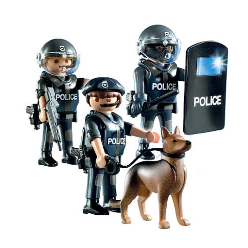Playmobil-Police-Unit