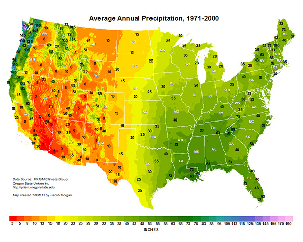 US-Precipitation-Map