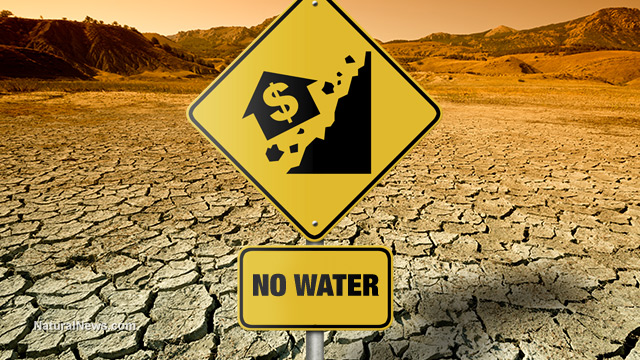 Drought-Housing-Crash-Sign-No-Water