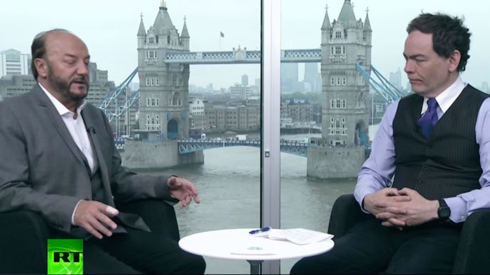 George Galloway and Max Keiser