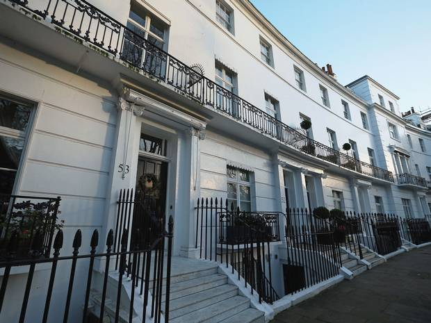 House prices plummeting in London's most expensive boroughs
