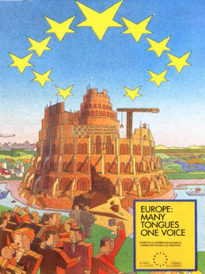 EU-Poster-Tower-Of-Babel