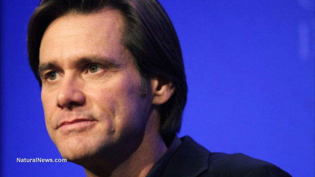 Jim Carrey blasts Jerry Brown as a 'corporate fascist' for signing ... Jim Carrey