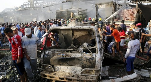 At least 60 people were killed and 200 wounded in a Thursday Sadr explosion.