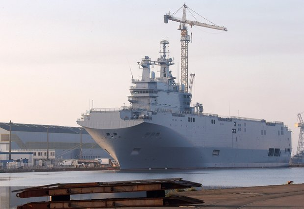 France seeking new buyers for Mistral warships