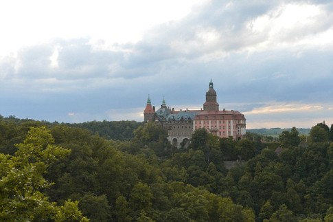 Ksiaz castle, Nazi headquarters during World War II