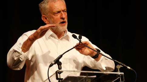 Labour Party leadership candidate Jeremy Corbyn