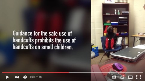 Land of the Free – Crying 8-Year-Old with Disabilities Shackled in Handcuffs at Kentucky School