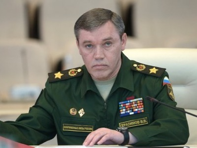Tatarstan, General Valéri Guérassimov, head of the armed forces of the Federation of Russia and deputy vice-Minister of Defence
