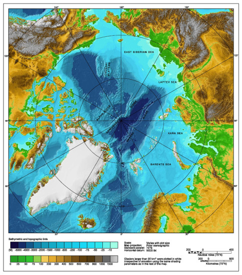 Arctic-Ocean-Map