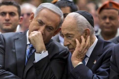 netanyahu-and-peres
