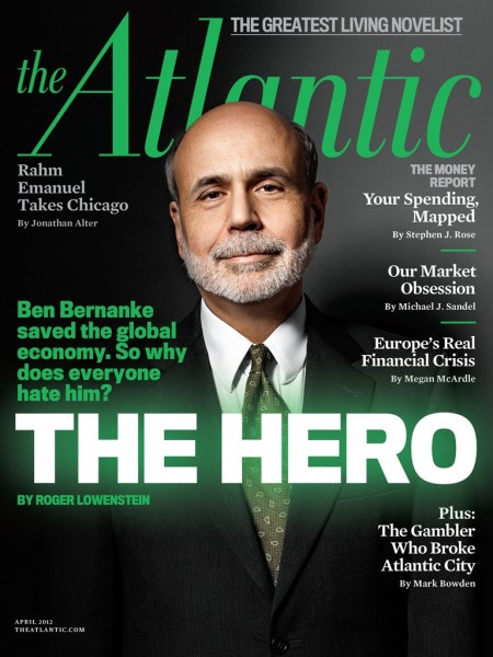 Bernanke the hero