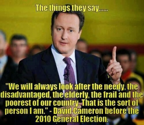 Camoron more lies
