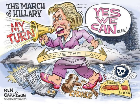 The MArch Of Hillary