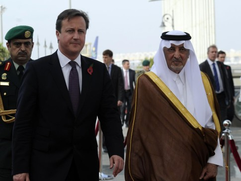 Cameron - UK Government attempting to keep details of secret security pact with Saudi Arabia hidden from public
