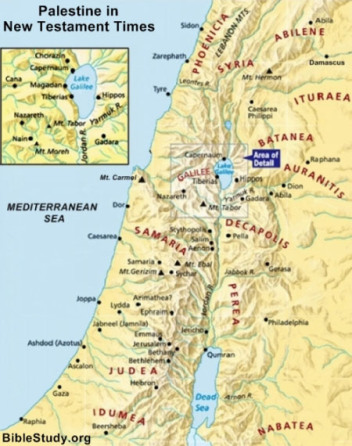 palestine-new-testament-times