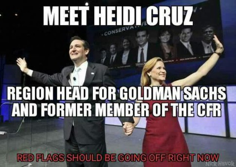 Heidi Cruz And Ted Cruz