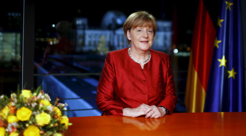 We can do it Merkel New Year