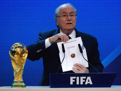 sepp blatter world cup 2018