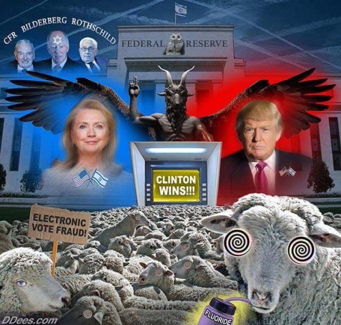 Clinton-Trump-Election-Rothschild