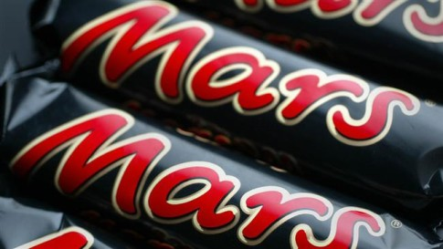 Mars recalling candy bars in 55 countries
