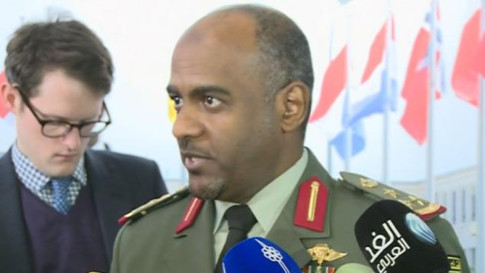 Saudi military spokesman Brig. Gen. Ahmed Al-Assiri said Riyadh's decision to send troops to Syria is irreversible
